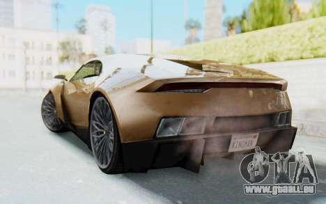 GTA 5 Pegassi Reaper SA Lights pour GTA San Andreas laissé vue
