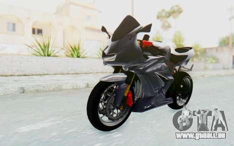 Kawasaki Ninja 250R Streetrace v2 pour GTA San Andreas vue de droite