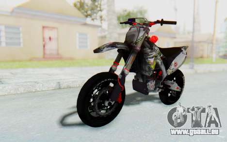 Kawasaki KX125 Supermoto v2 High Modif pour GTA San Andreas