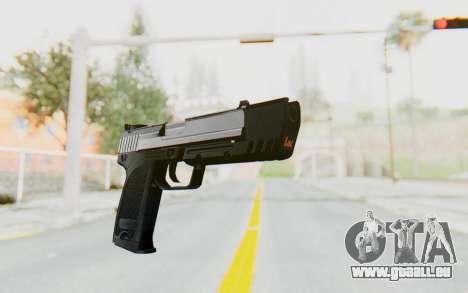 HK USP 45 Chrome pour GTA San Andreas