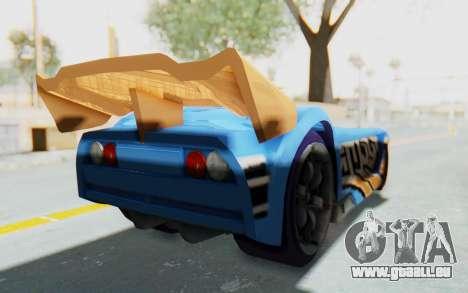 Hot Wheels AcceleRacers 1 für GTA San Andreas linke Ansicht