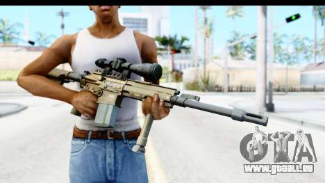 CoD Ghosts - G-28 Desert Camo für GTA San Andreas dritten Screenshot
