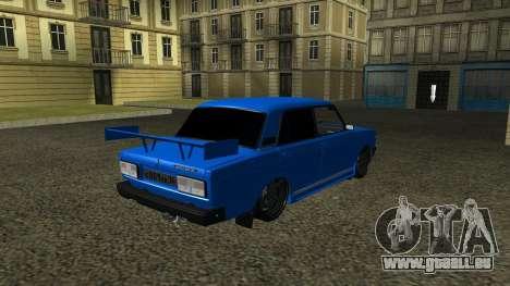 VAZ 2107 Sport pour GTA San Andreas vue de droite