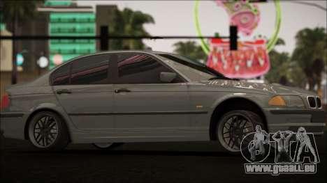 BMW E46 für GTA San Andreas Innenansicht