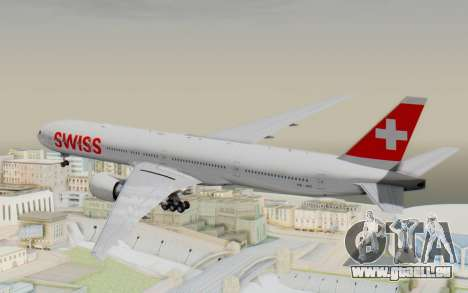 Boeing 777-300ER Swiss Global Air Lines für GTA San Andreas rechten Ansicht