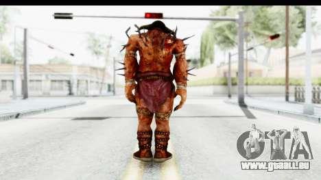 God of War 3 - Hades für GTA San Andreas dritten Screenshot