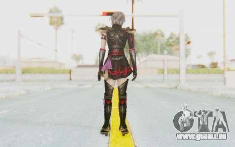 Dynasty Warriors 8: Xtreme Legends - Lu Lingqi 1 pour GTA San Andreas troisième écran