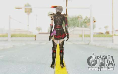 Dynasty Warriors 8: Xtreme Legends - Lu Lingqi 1 für GTA San Andreas dritten Screenshot