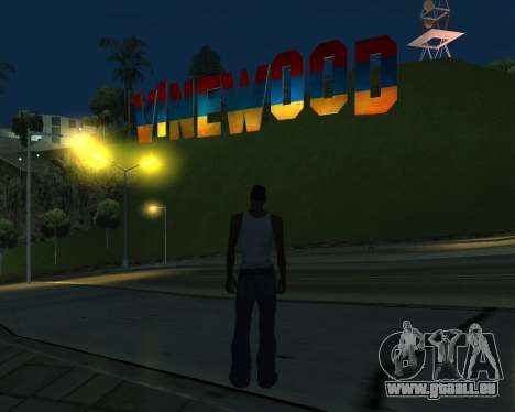 New Vinewood Armenia pour GTA San Andreas troisième écran