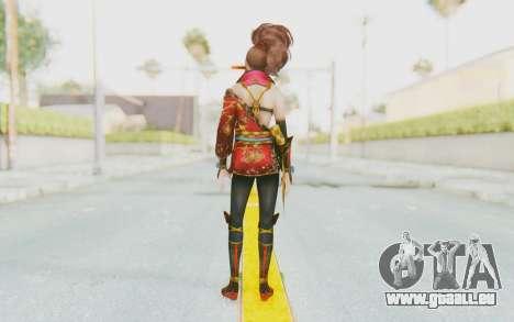 Samurai Warriors 4 - Kai für GTA San Andreas dritten Screenshot