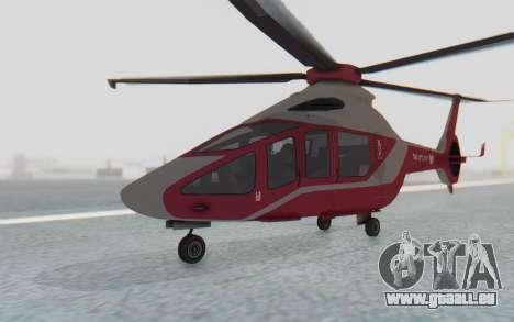 GTA 5 Buckingham Volatus v1 für GTA San Andreas rechten Ansicht