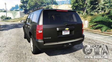 Chevrolet Tahoe für GTA 5