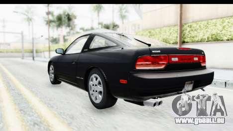 Nissan 240SX 1994 v2 pour GTA San Andreas sur la vue arrière gauche