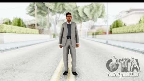 Messi Formal Fixed Up pour GTA San Andreas deuxième écran