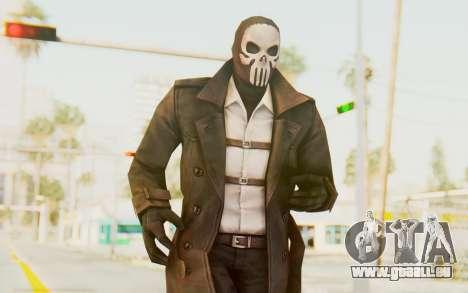 Marvel Future Fight - Punisher (Noir) pour GTA San Andreas