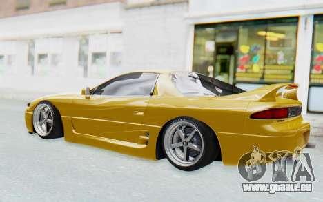 Mitsubishi 3000GT 1999 pour GTA San Andreas vue arrière