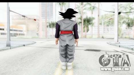 Dragon Ball Xenoverse Goku Black pour GTA San Andreas troisième écran
