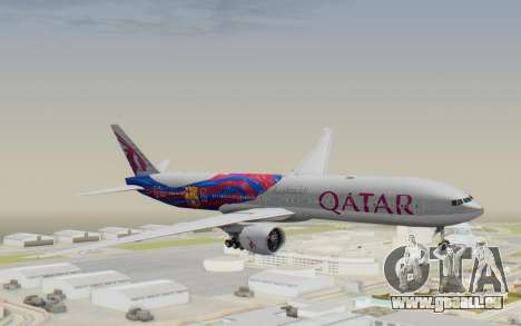 Boeing 777-300ER Qatar Airways v2 pour GTA San Andreas