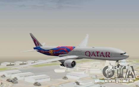 Boeing 777-300ER Qatar Airways v2 für GTA San Andreas