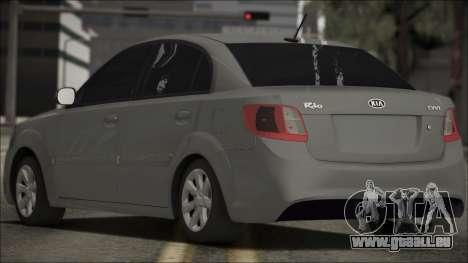Kia Rio für GTA San Andreas linke Ansicht