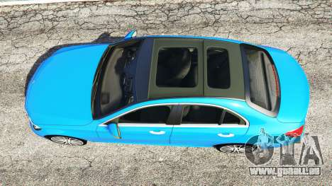 GTA 5 Mercedes-Benz C250 2014 Rückansicht
