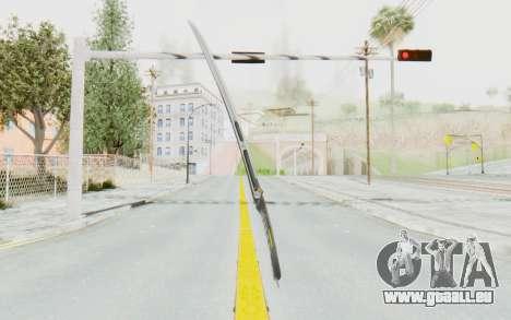 Yuri Katana pour GTA San Andreas deuxième écran