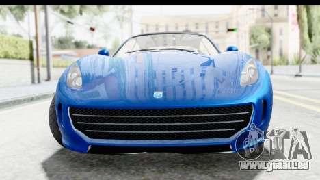 GTA 5 Grotti Bestia GTS pour GTA San Andreas
