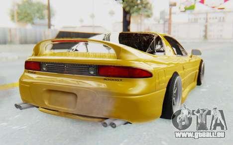Mitsubishi 3000GT 1999 pour GTA San Andreas laissé vue