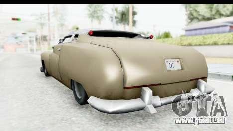 Hermes Ratrod für GTA San Andreas rechten Ansicht