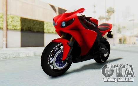 Yamaha YZF-R1 für GTA San Andreas rechten Ansicht