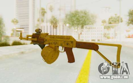 GTA 5 DLC Finance and Felony - Assault Rifle pour GTA San Andreas deuxième écran