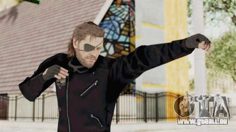 MGSV Phantom Pain BIG BOSS Leather Jacket für GTA San Andreas