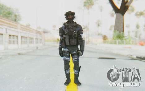Federation Elite LMG Urban-Navy für GTA San Andreas zweiten Screenshot