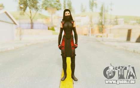 Marvel Heroes - Elektra pour GTA San Andreas deuxième écran