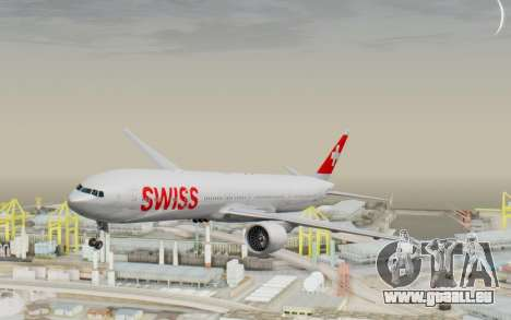 Boeing 777-300ER Swiss Global Air Lines pour GTA San Andreas