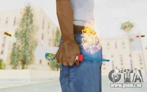 Hatsuni Miku Molotov für GTA San Andreas dritten Screenshot