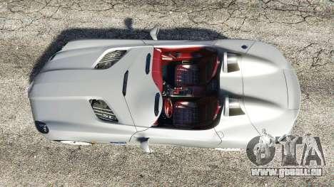 Mercedes-Benz SLR McLaren 2009 für GTA 5