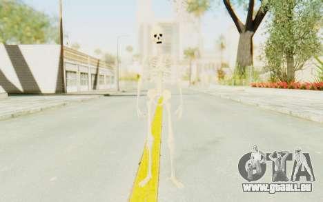 Skeleton pour GTA San Andreas deuxième écran