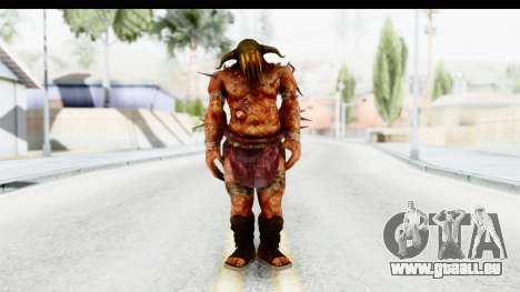 God of War 3 - Hades für GTA San Andreas zweiten Screenshot