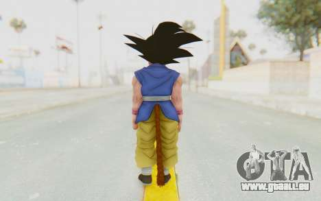 Dragon Ball Xenoverse Goku Kid GT SJ für GTA San Andreas dritten Screenshot