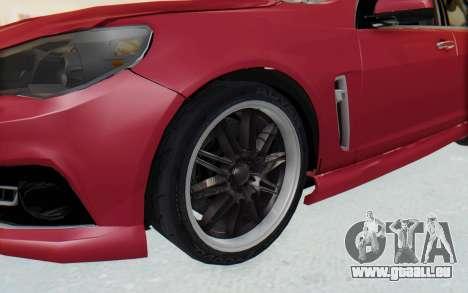Chevrolet Super Sport 2014 pour GTA San Andreas vue arrière