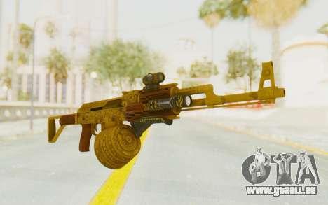 GTA 5 DLC Finance and Felony - Assault Rifle pour GTA San Andreas