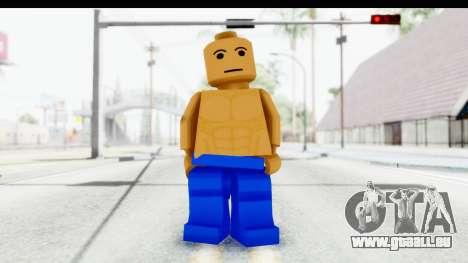 LEGO Carl Johnson pour GTA San Andreas deuxième écran