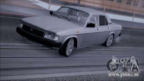V8 de GAZ 31029 pour GTA San Andreas