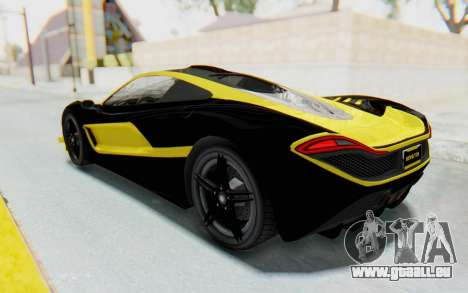 GTA 5 Progen T20 Devil PJ für GTA San Andreas Innen