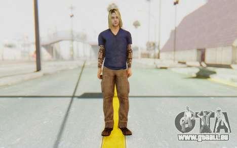 Kurt Cobain pour GTA San Andreas deuxième écran