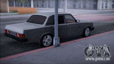 V8-GAS-31029 für GTA San Andreas zurück linke Ansicht