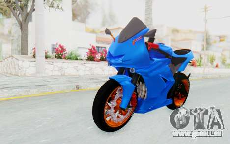 Kawasaki Ninja 250R Streetrace für GTA San Andreas