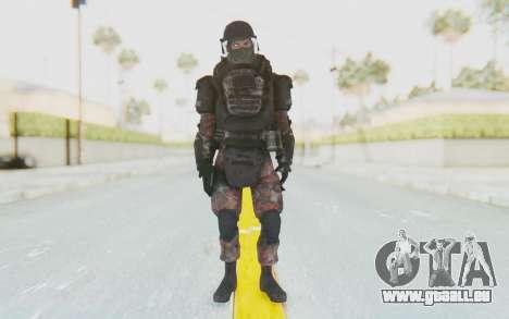 COD MW2 Russian Paratrooper v3 pour GTA San Andreas deuxième écran