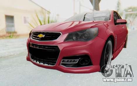 Chevrolet Super Sport 2014 pour GTA San Andreas vue de droite